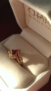 Rare Ruby Marquise. Size 6