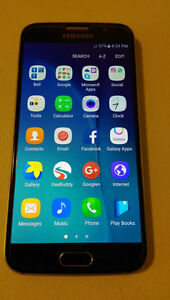 Unlocked Samsung Galaxy S6,32Gb,Work with Wind(freedommobile)