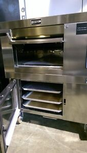 (DOYON) ARTISAN STONE DECK ELECTRIC OVEN WITH PROOFER