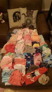 Lot vêtements bébé 6-12 mois