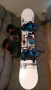 Full snowboard setup 400$ obo Strathcona County Edmonton Area image 2