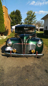 1941 PLYMOUTH 2 DOOR SEDAN IN SHOWROOM CONDITION