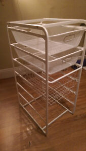 Ikea Algot 5-tiier frame with baskets