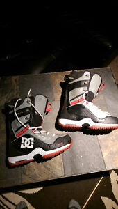 snowboard boots DC size 10