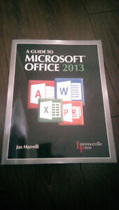 Guide to Microsoft Office 2013 Textbook by Jan Marrelli