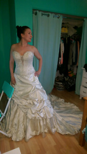 Wedding dress size 8