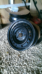 """Used 16"""" Steel Rims For Sale 5x120"""