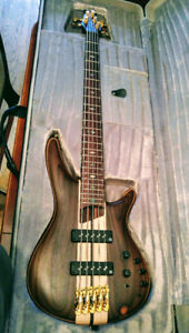 IBANEZ PREMIUM SR1805 5 String Bass For Sale.