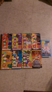 OBO lot of south park VHS + beavis and butthead do america