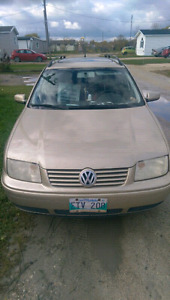 2 for 1 deal! 03 VW jetta wagons fully loaded