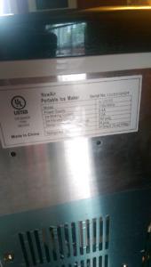 Portable Ice Machine-NewAir AI 200SS