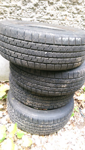 4x 14 inch 185/65R14 tires - good for at least 3 seasons!