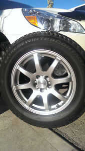 Subaru Winter Tires: Set of 4 Rims & Winter Tires in great shape