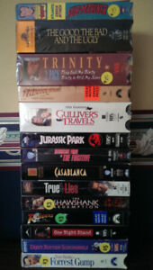VIDEOS - VHS ASSORTED FROM $3 - $15