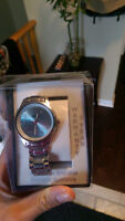 Womans brand new watch Blue face $10