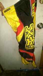 FOX racing pants and chest protector