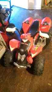Kids Polaris Electric Quad.  NO REVERSE