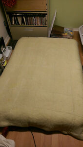 100% pure wool mattress topper