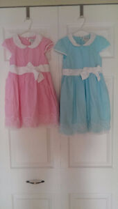 Cotton Dresses, Barely worn, Size 3 and 4. Perfect for Twins