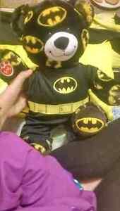 Batman Build a bear with heart beat