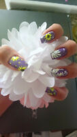 Looking for model to do nail shellac or nail art design...