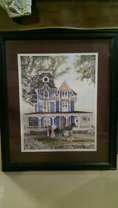 Walter Campbell Print Framed and signed Windsor Region Ontario image 1