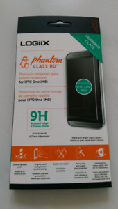 Htc m9 or m8 tempered glass screen protector.