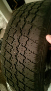 infiniti winter tires only used one season London Ontario image 2