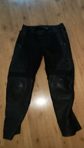 Icon Compound Overpants Leather
