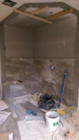 PROFESSIONAL tiling services