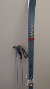 180cm Cross Country Skis and Poles