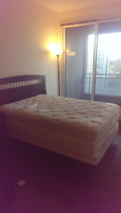 Bed frame and Mattresses, Urgent/Negotiable