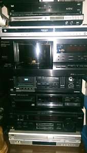 FOR SALE- TOP OF THE LINE HOME STEREOS AND COMPONENTS
