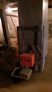 BROCK ELITE AIR OIL FIRED FURNACE - FREE TO PICK UP
