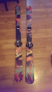 Line twin tip skis $110