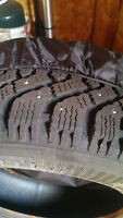 Studded Goodyear Nordic tires