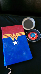 CAPTAIN AMERICA JOURNAL AND COLLECTIBLE SHIELD-->>NEW CONDITION!