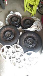 Tires, rims, hubcaps