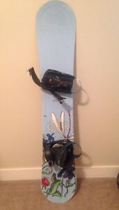 Muse 149 Snowboard with K2 bindings