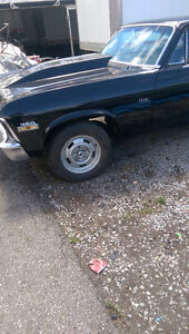 1971 Nova rolling Chassis with complete LS 6,0 motor