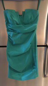 Teal Cocktail Dress! Worn once! Like new!