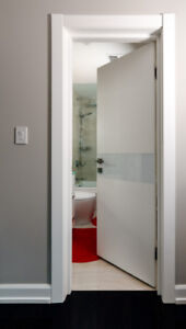 Cremona - Modern European Interior Door (prehung+trim+hardware)