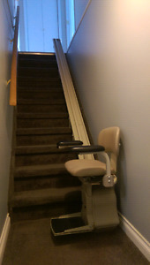 Stairlift 12 foot straight track