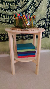NORNÄS Side table, Pine 1 Month Old