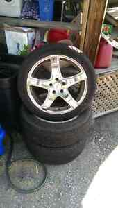 2pairs 18inch chrome rims