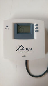 Solar Hot Water System Differential Temperature Controller