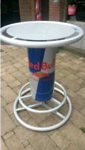 RED BULL HIGHTOP TABLE