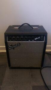 Squire BP15 Bass Guitar Amplifier, Good for Beginners