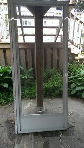 Large Glass Aluminium Door