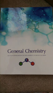 General Chemistry 2nd Custom Ed. for UBC with Student Solution